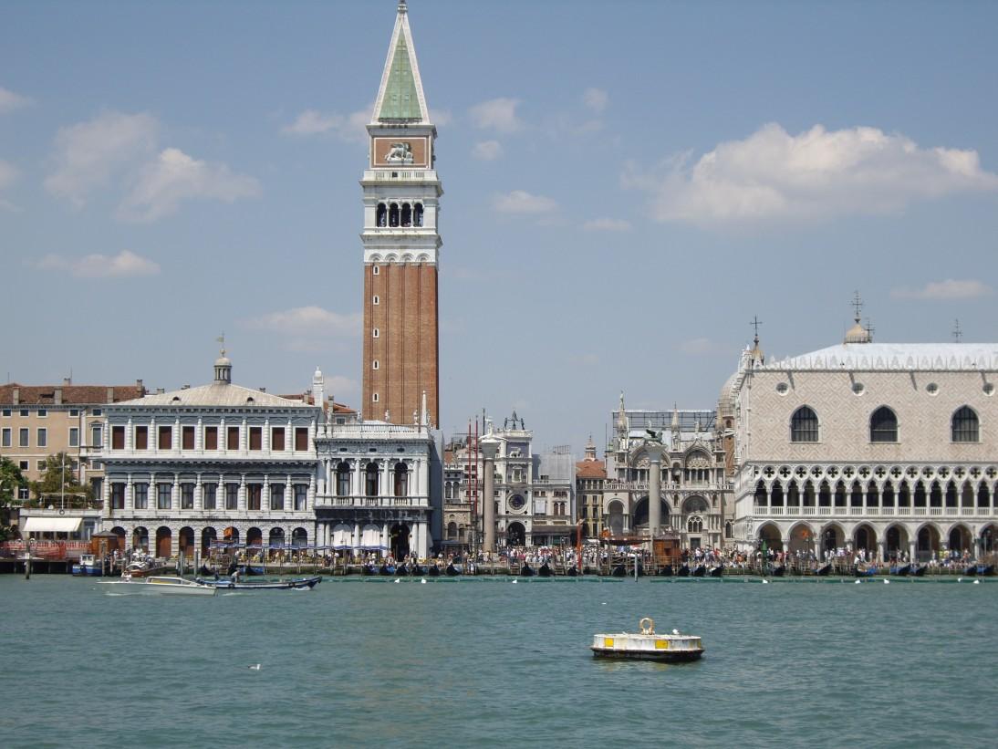 Venecia, llegada