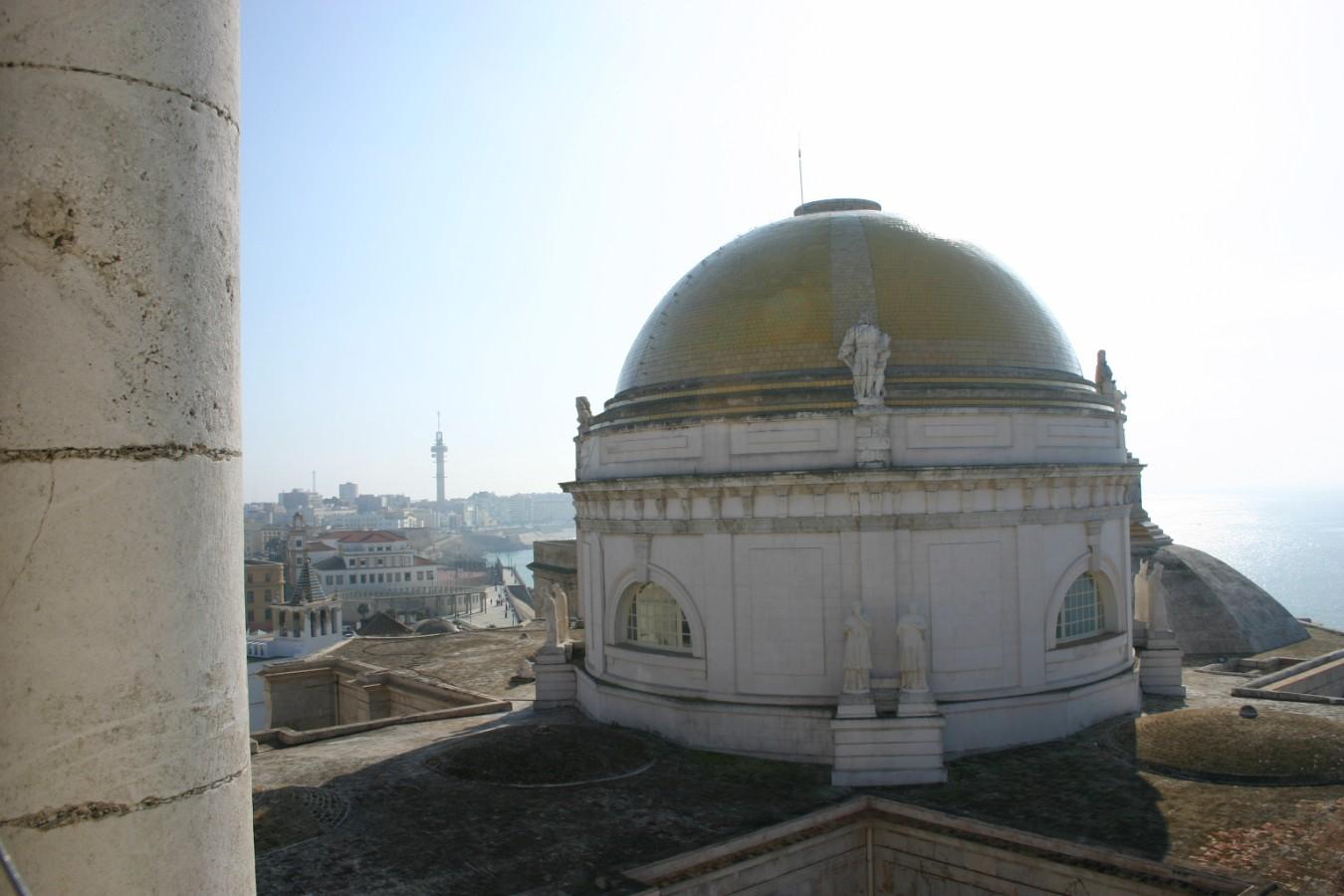 Cádiz, cúpula de la Catedral