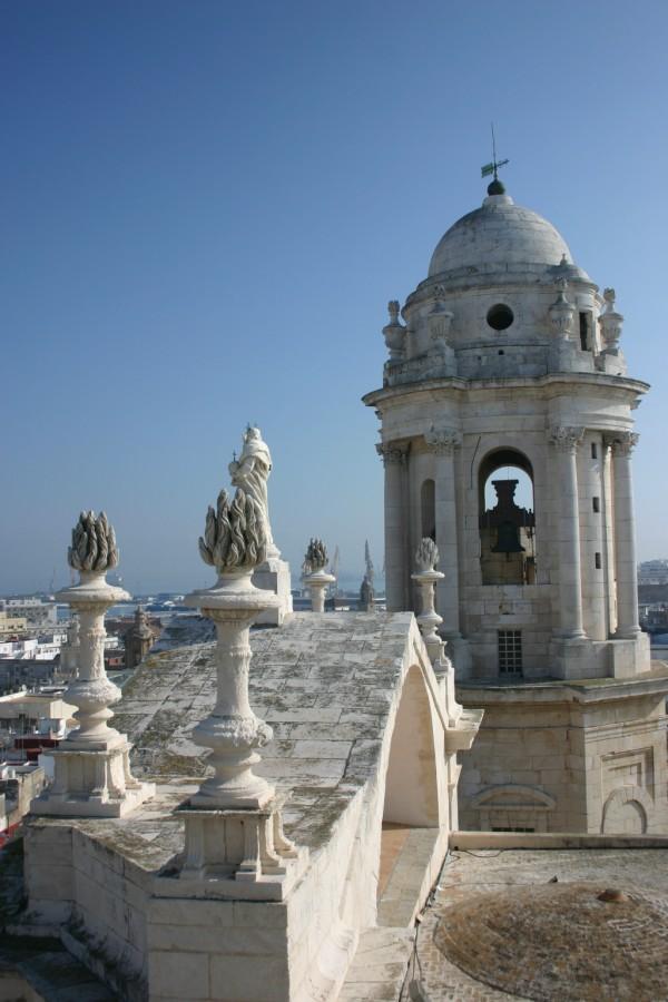 Cádiz, campanario de la Catedral