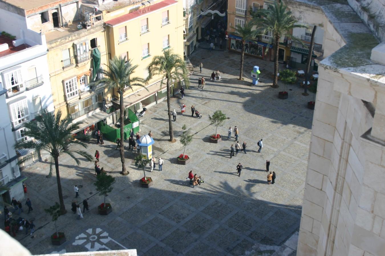 Cádiz, plaza de la Catedral