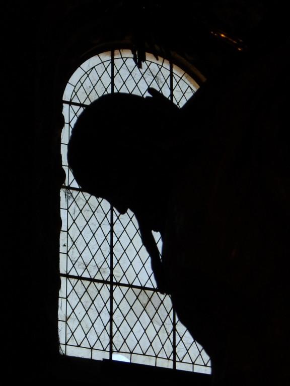 Contraluz en el Monasterio de Los Jerónimos.
